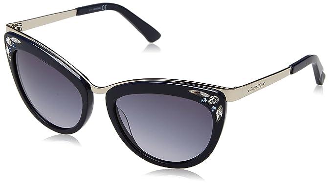 Swarovski Sonnenbrille SK0102 5690W Gafas de sol, Azul (Blau ...