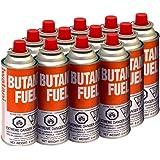 Iwatani BU-6 Butane Fuel Canister, 8-Ounce, Set of 12