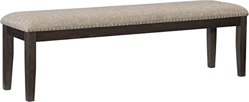 Lexicon 64 Dining Bench, Rustic Brown