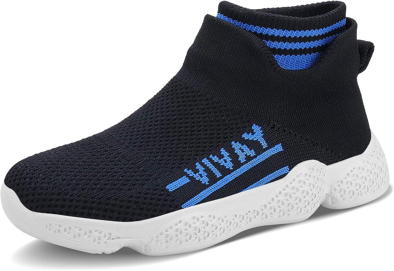 Ceryman - Zapatillas de Running para niños, Ligeras, Transpirables ...