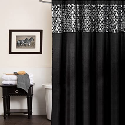 Image Unavailable Not Available For Color Popular Bath Mosaic Stone Shower Curtain