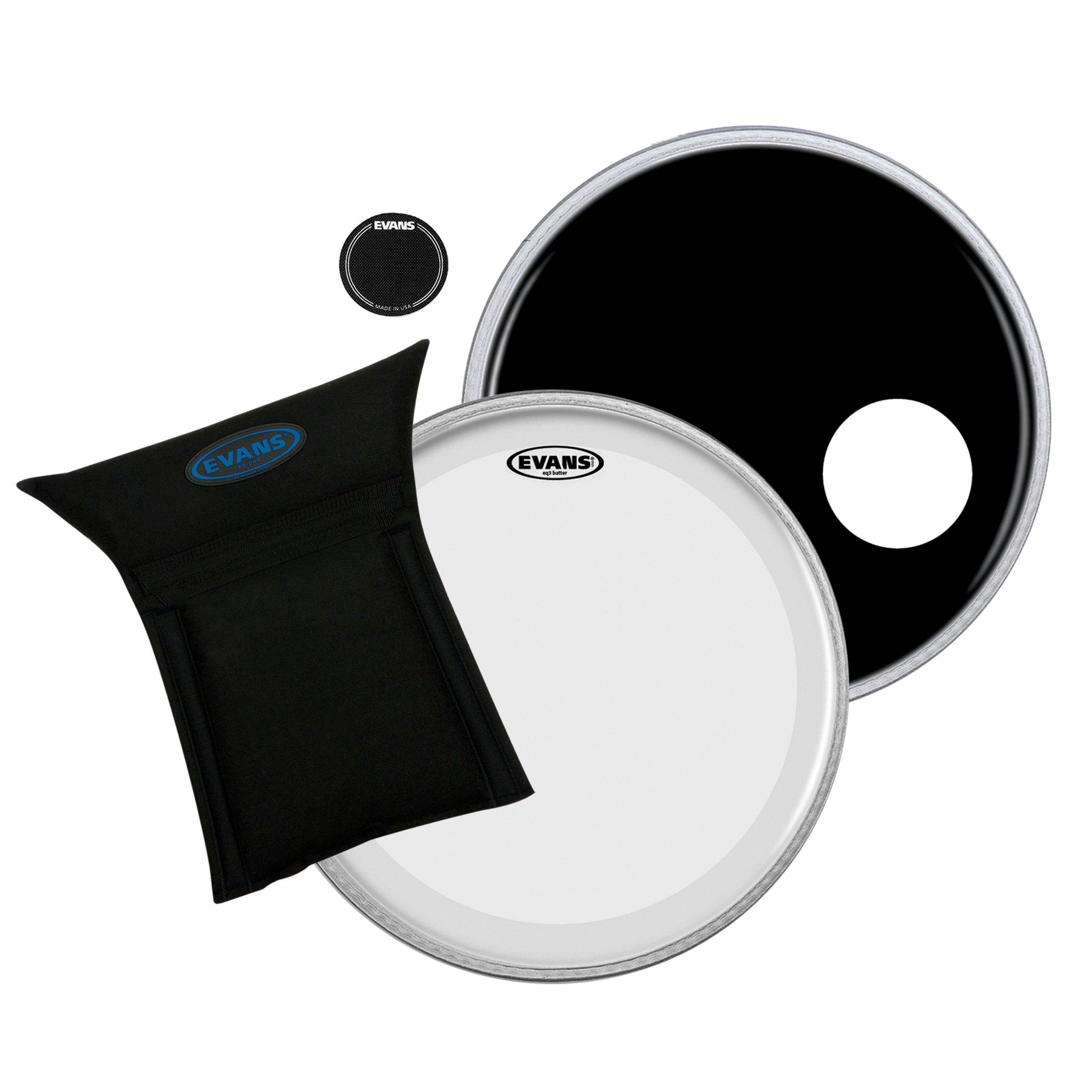 Evans Heads BD22B3 22-Inch Bass Drum Heads