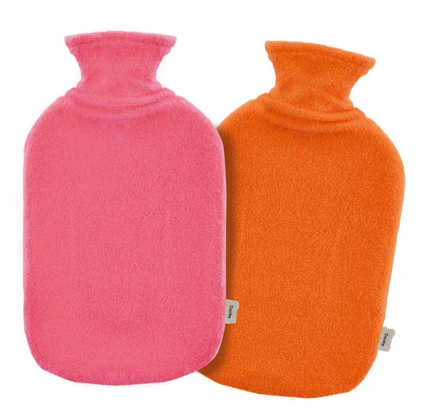 fashy hottie bottle 2.0L u0026 Danke fleece cover with two ( Pink 1 orange ) DK6530PK1 + ORC