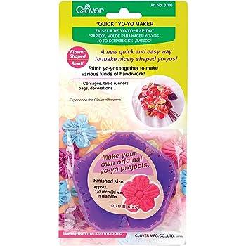 Clover 8706 Flower Small Yo-Yo Maker