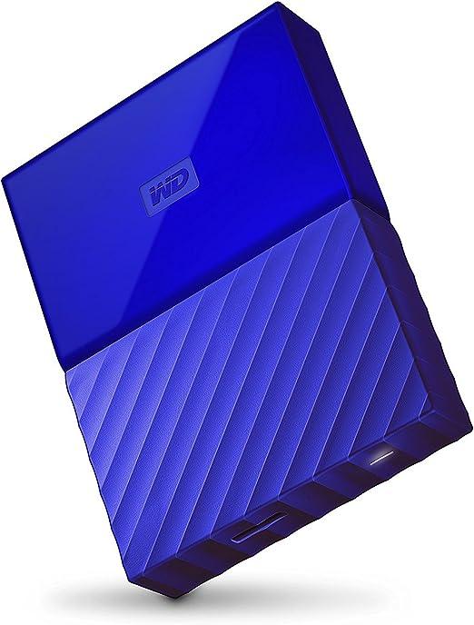 WD 4TB Blue My Passport Portable Storage External Hard Drive USB 3.0 [並行輸入品]