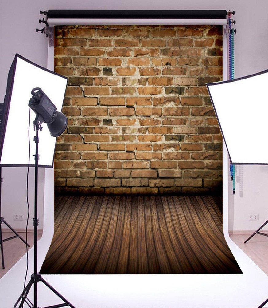laeaccoデザインレンガ壁3 x 5ftスタジオ写真背景シンビニールモダンファッションBackdrop   B01EOOKITU