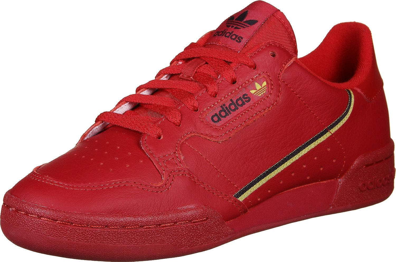 adidas Originals Continental 80 Unisex Baskets Rouge: Amazon ...