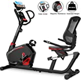 HARISON Magnetic Recumbent Exercise Bike Stationary bike for Seniors 350 LBS Capacity with 14 Level Resistance, iPad…