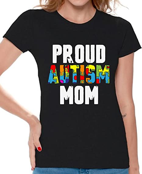 Mens Tank Top Proud Autism Dad Shirt Autistic Kid Awareness T-Shirt Fathers Day