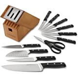 Calphalon Classic Self-Sharpening Cutlery Knife Block Set with SharpIN Technology, 12 Piece