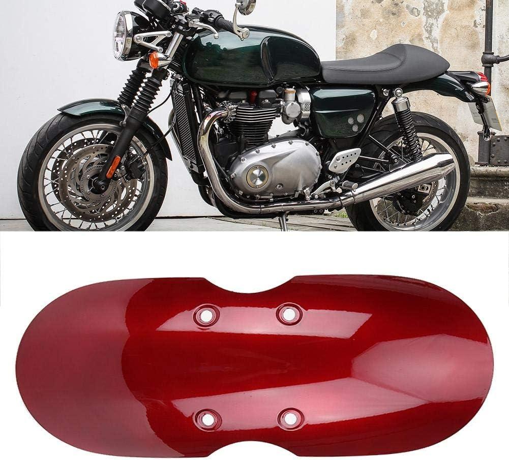 Schwarz Kotfl/ügelabdeckung vorne passend f/ür Triumph Bonneville T100 2001-2016 Mootea Motorrad Kotfl/ügel