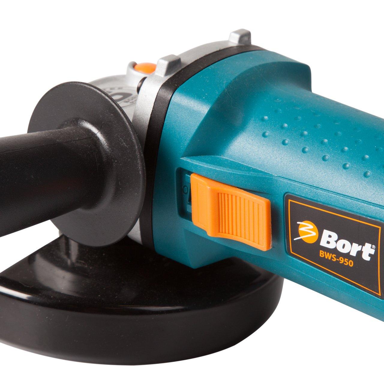 900 W 12000 giri//min. Bort BWS-950 Rettificatore ad angolo 125 mm di diametro