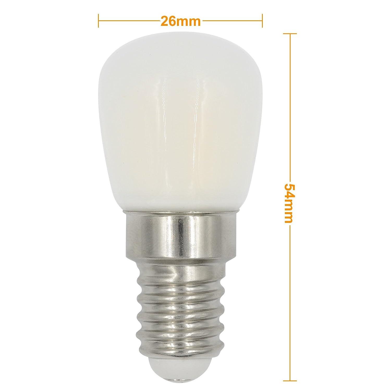 MENGS® 2Pcs E14 3W Luz Lámpara Aleación Vaso Cubrir Blanco Frío 26X2835 SMD AC 220-240V: Amazon.es: Iluminación