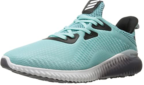 huge selection of 409a4 5568f adidas Women s Alphabounce 1 w Running Shoe, Clear Aqua White Trace Grey,