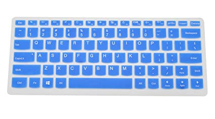 Amazon.com: PcProfessional Blue Ultra Thin Silicone Gel ...