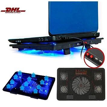 "leshp 14 ""de 15.6 pulgadas Laptop Enfriador portátil Cooler Soporte fría Alfombrilla de"