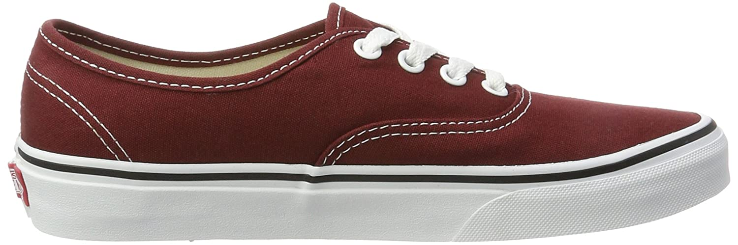 Vans Authentic B01MYXR38W 7.5 B(M) US Women / 6 D(M) US Men|Madder Brown/True White