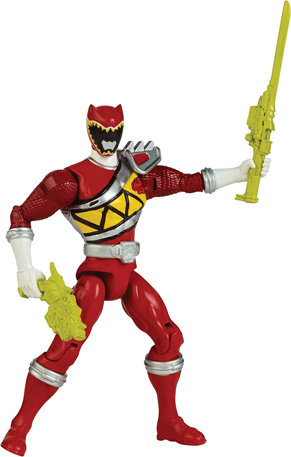 """Power Rangers Dino Super Charge Action Figure, 5"""", Red"""