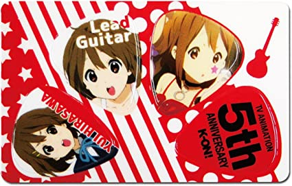 ONE JAPANESE ANIME BEAUTY GUITAR PICK