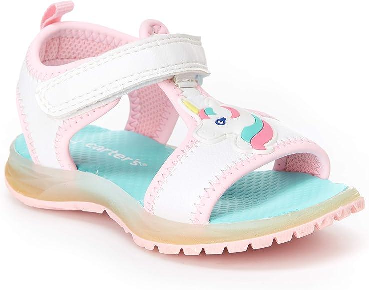 Feline Light-up Athletic Sandal, Pink