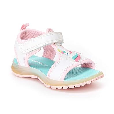 e214e801a755c Carter's Girls' Feline Light-up Athletic Sandal