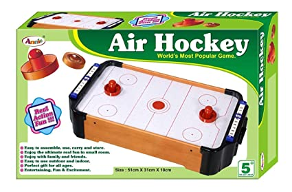Buy Annie Kid S Indoor Game Two Player Air Hockey Online At Low
