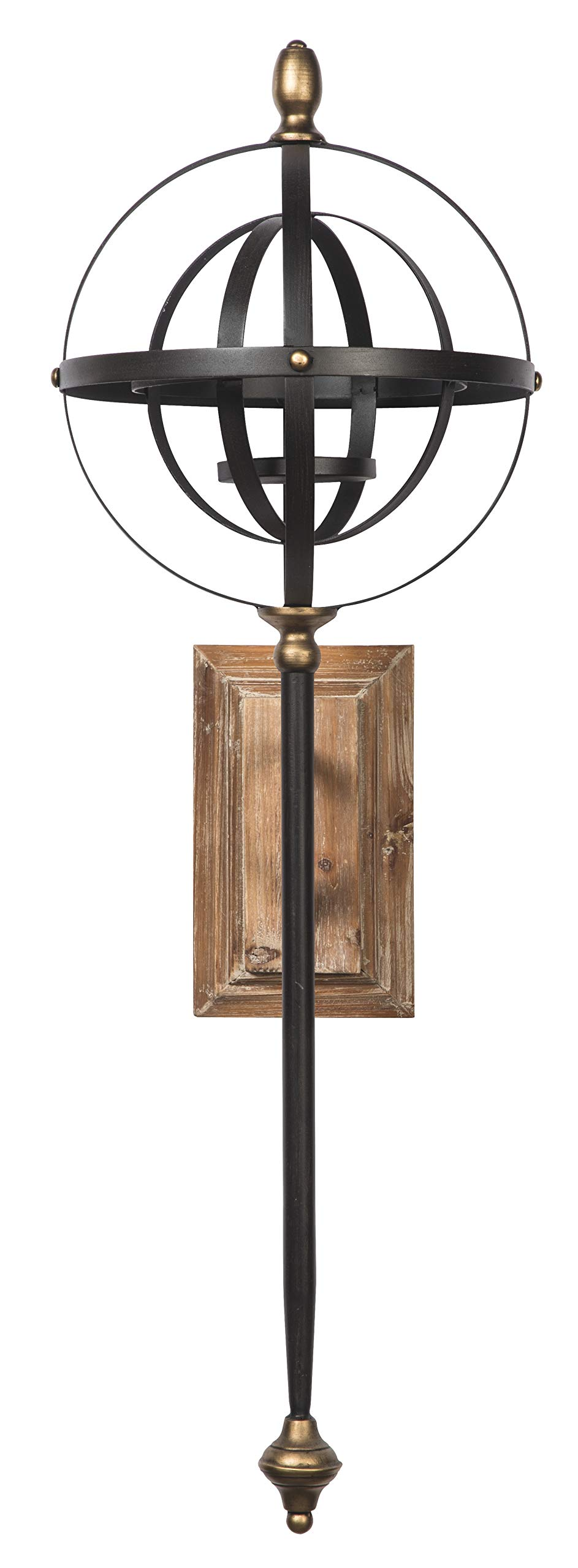 Ashley Furniture Signature Design - Dina Wall Sconce - Casual - Black/Gold Finish by Signature Design by Ashley