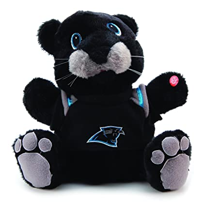5d264f656 Image Unavailable. Image not available for. Color  Carolina Panthers Plush  Animated Musical Mascot
