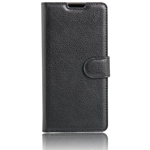5 opinioni per Xperia XA Custodia, Caseforyou® PU Portafoglio pelle Stand Flip Custodia Cover