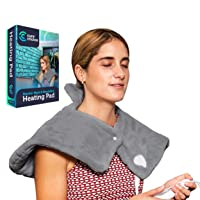 Cure Choice Electric Heating Pad for Neck & Shoulders, Ultra Soft Heating pad for...