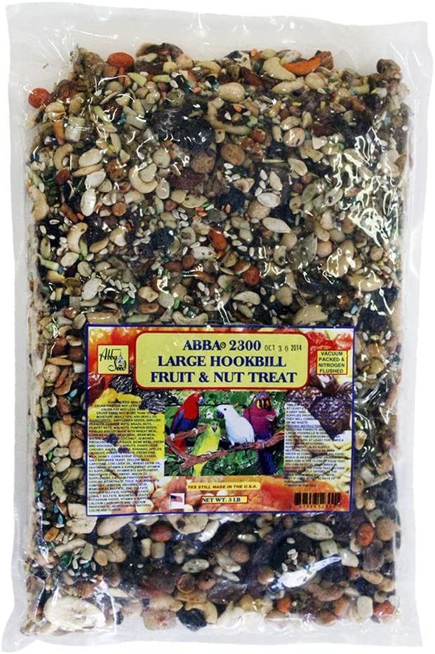 ABBA 2300 Large Hookbill Fruit and Nut Treat 5lbs