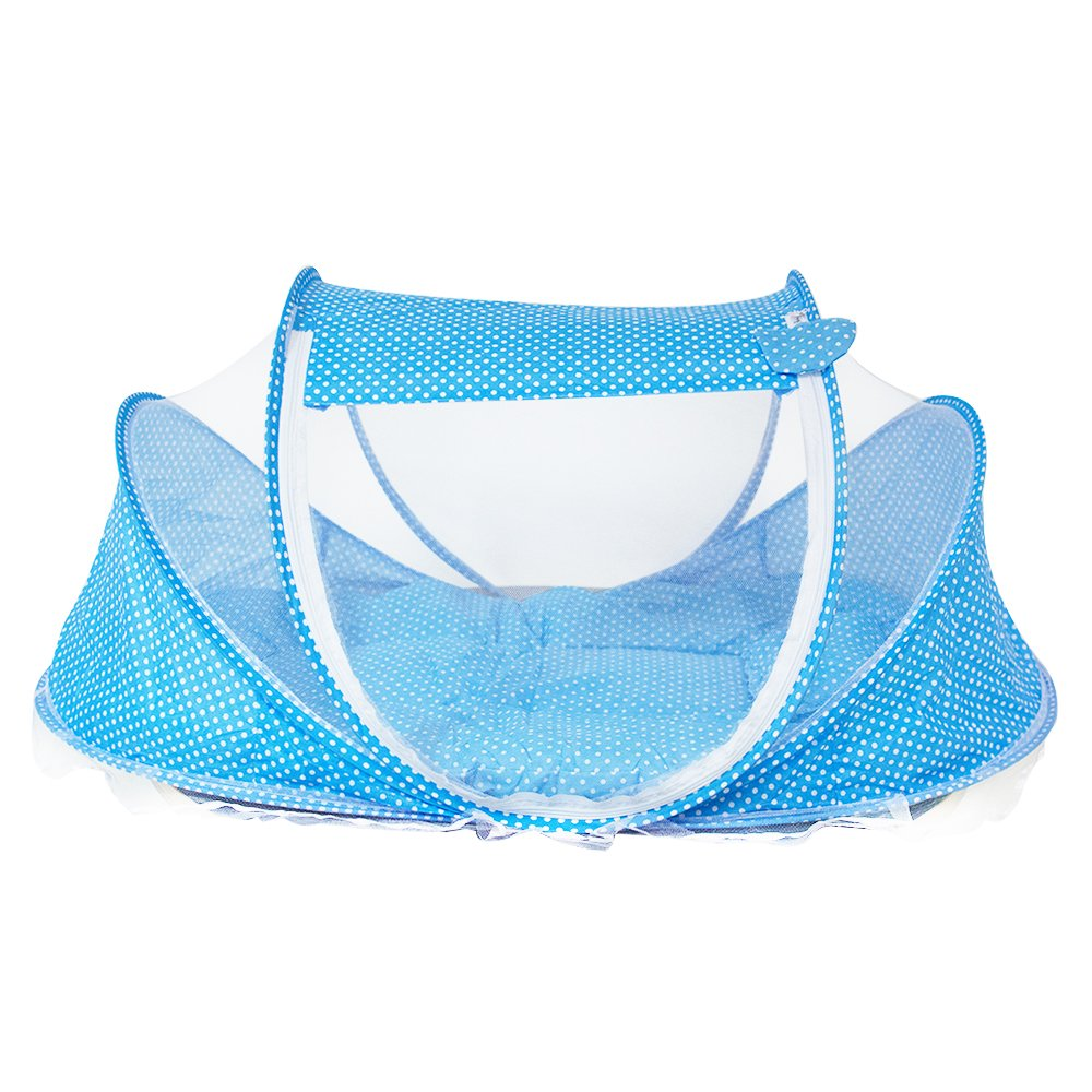 3-in-1 ワンタッチ式赤ちゃん用蚊帳 揺りかご型