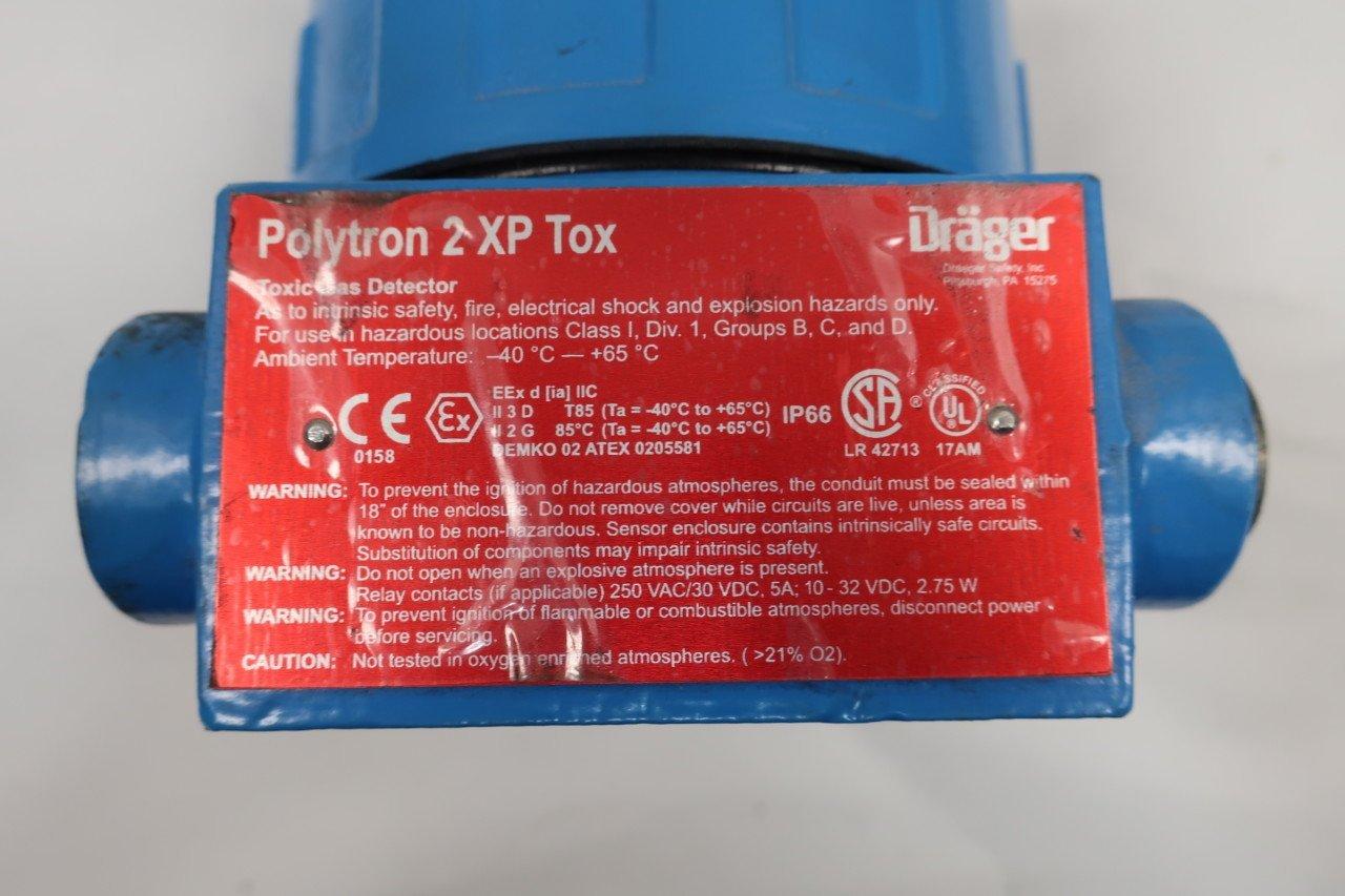 DRAGER 4543200 POLYTRON 2 XP Gas Detector 10-32V-DC D625888: Amazon.com: Industrial & Scientific