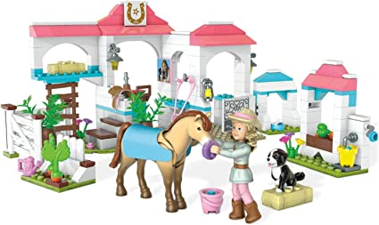 Mega Construx Nicki/'s Horse Stables Mini Figure Building Fit For American Girl