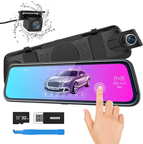 Thieye Mirror Dashcam Ultra Hd Car Video Recorder With Elektronik