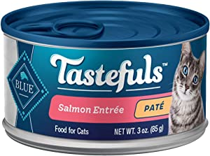 Blue Buffalo Tastefuls Natural Pate Wet Cat Food