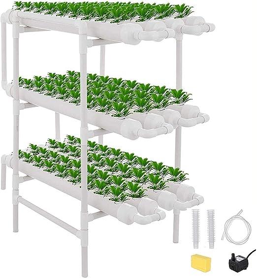ETE ETMATE Kit de Cultivo de Sitio hidropónico Experimento hidropónico y Cultivo de Agua Sistema de Plantas de jardín Sistema de Cultivo hidropónico para Verduras, Ensalada, Verduras, Frutas: Amazon.es: Jardín