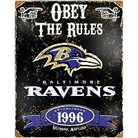 Party Animal NFL en Relieve Metal Pub Clásico Signs