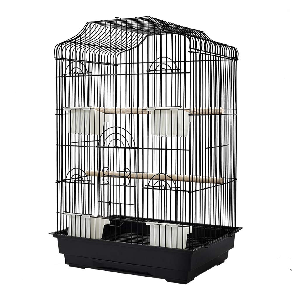 68cm Bird Cage Pet Parred Pet Carrier Portable Canary Budgie Finch Perch Medium