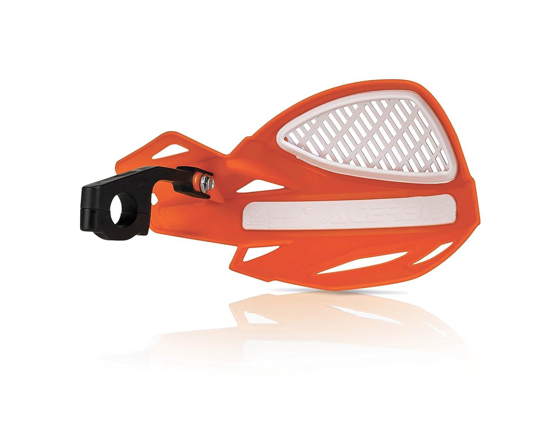 Acerbis 2072670036 Uniko Orange Vented Handguard