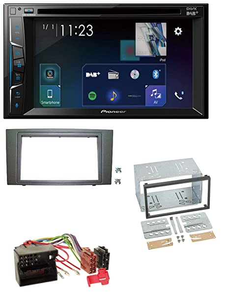 Pioneer A310 0dab Bluetooth DAB CD DVD MP3 2DIN Radio de coche para Ford Mondeo (