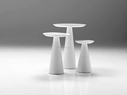 Marvelous Amazon Com Mobital Tower Tall End Table In High Gloss White Download Free Architecture Designs Crovemadebymaigaardcom