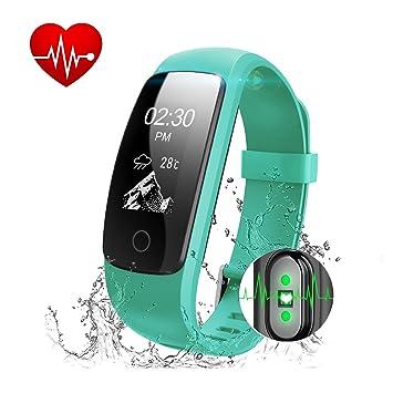 id107 Plus actividad Tracker, 0.11 pounds, color verde ...