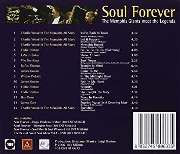 AA VV  - Soul forever The Menphis Giants meet the Legends - Amazon