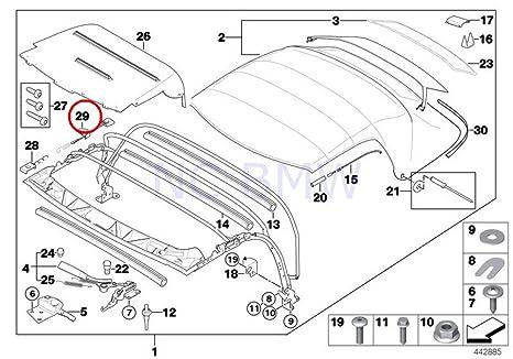 Amazon Com Bmw Genuine Right Tension Rope Automotive