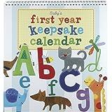 Jill McDonald Kids First Year Keepsake Calendar, Alphabet Animals