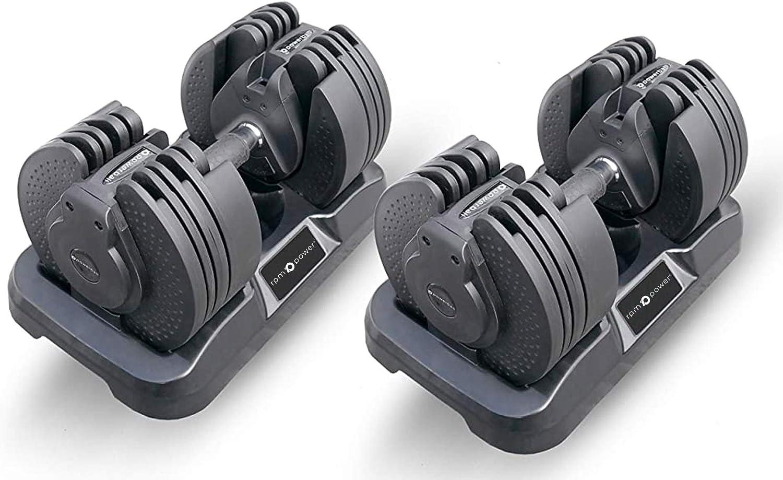 Powerball - Mancuerna ajustable (20 kg máx.)