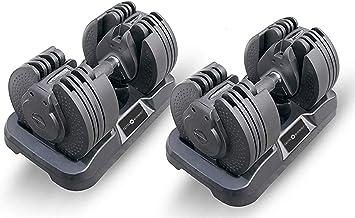 Set di manubri palestra regolabili rpm power b07l6lvtqj