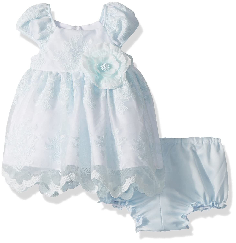 Laura Ashley London DRESS ベビーガールズ 24 Months ブルー B078WX6J43