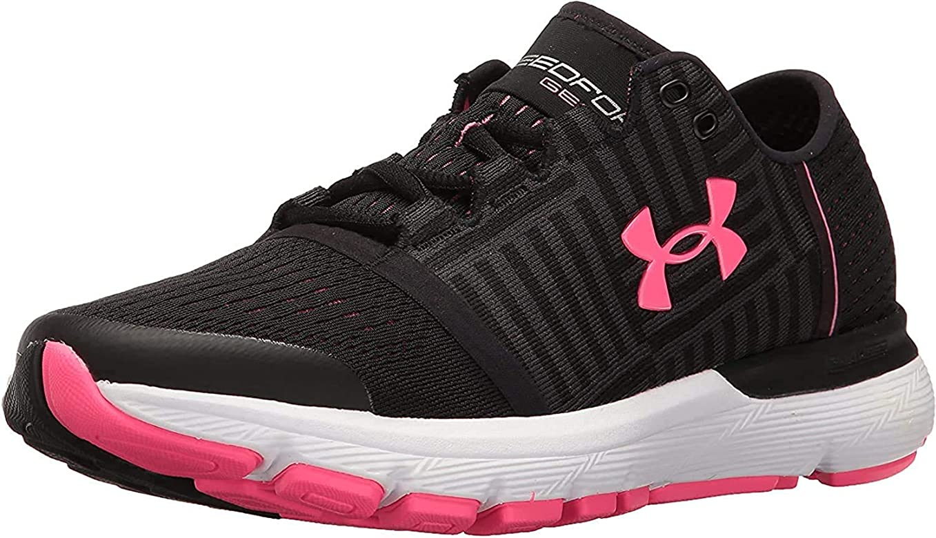 Under Armour 1285481 - Zapatillas de Running de Sintético para Mujer Korall/Orange, Color Negro, Talla 38 EU: Amazon.es: Zapatos y complementos
